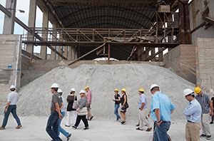 Task Meeting Visit of Cement Plant and Research Facilities